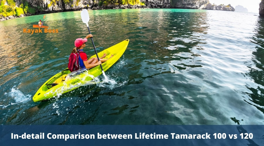 The Comparison Chart Between Lifetime Tamarack 100 and 120