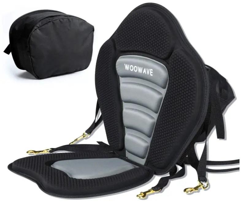 WOOWAVE Kayak Seat Padded Deluxe Canoe Seat