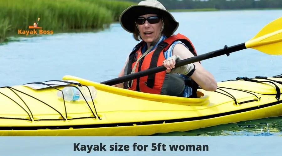 Kayak length for height chart