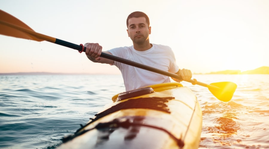 two person kayak paddle