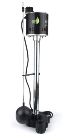 ECO-FLO Products EPC50 Pedestal Sump Pump with Vertical Float Switch