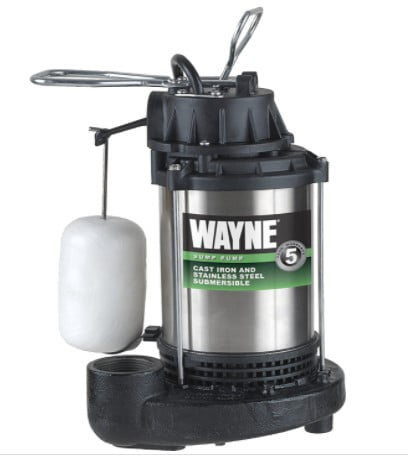 WAYNE CDU980E HP Submersible Cast Iron and Stainless Steel Sump Pump