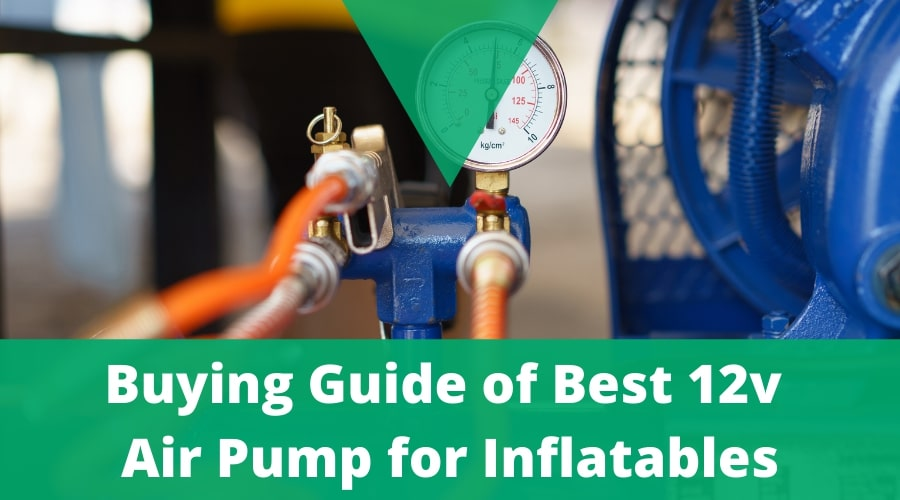 12v Air Pump for Inflatables