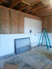 Finishing the Garage Part 1: Insulating and Drywalling ...