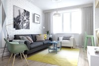 SMALL RUSSIAN STUDIO APARTMENT - 500 SQUARE FEET IN PASTEL ...