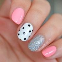40+ Pretty Polka Dots Nail Designs - For Creative Juice