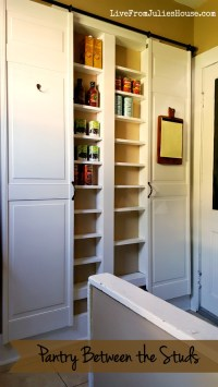 Pantry Between the Studs - Live from Julie's House