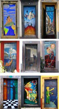 Street Door Art. Creative Painted Doors Around The World ...