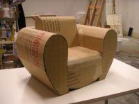 Flexible Cardboard Sofa