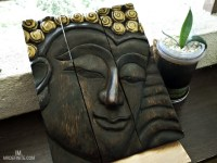 Installing Wooden Buddha Wall Art Panels the Alternative Way