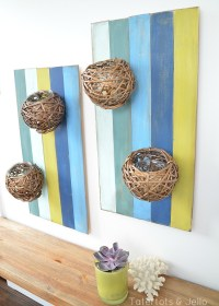 DIY Floral Wall Sconce For Spring And Summer Decor - Home ...