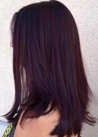 50 Shades of Burgundy Hair: Dark Red, Maroon, Red Wine ...