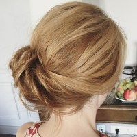 Side Updos, That Are in Trend: 40 Best Bun Hairstyles for 2018