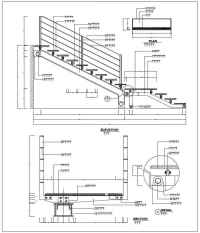 Over 500 Stair Details-Components of Stair,Architecture ...