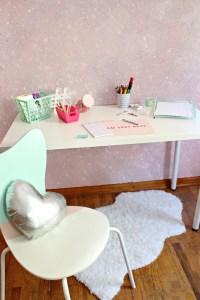 Glitter Wall DIY