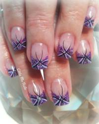 46 Cute Purple Nail Art Ideas That Are So Cute