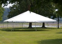 40' x 40' Frame or Pole Tents