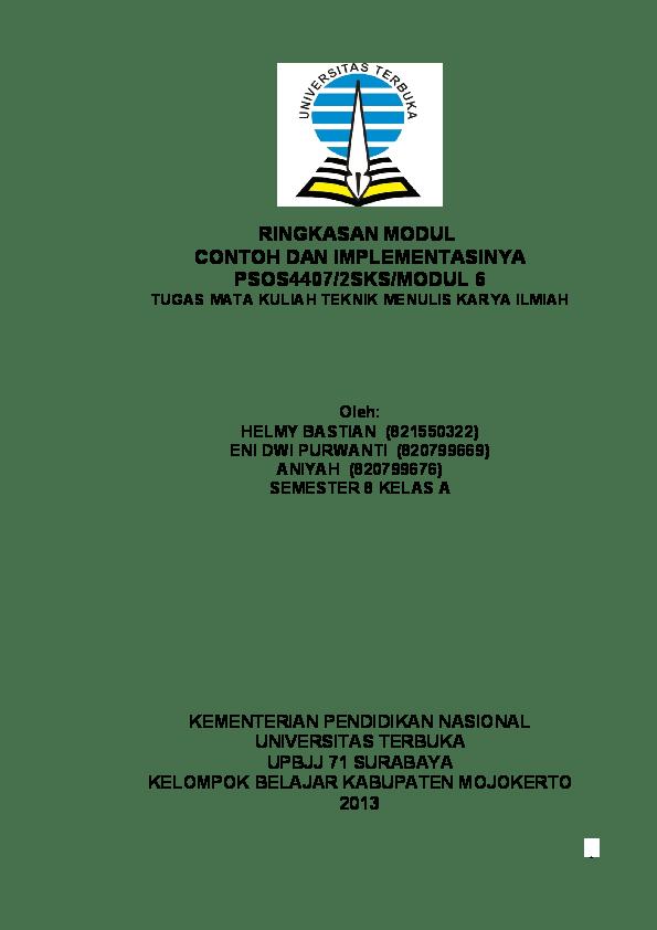 Doc Tugas Ut Helmy Bastian Academia Edu Cute766