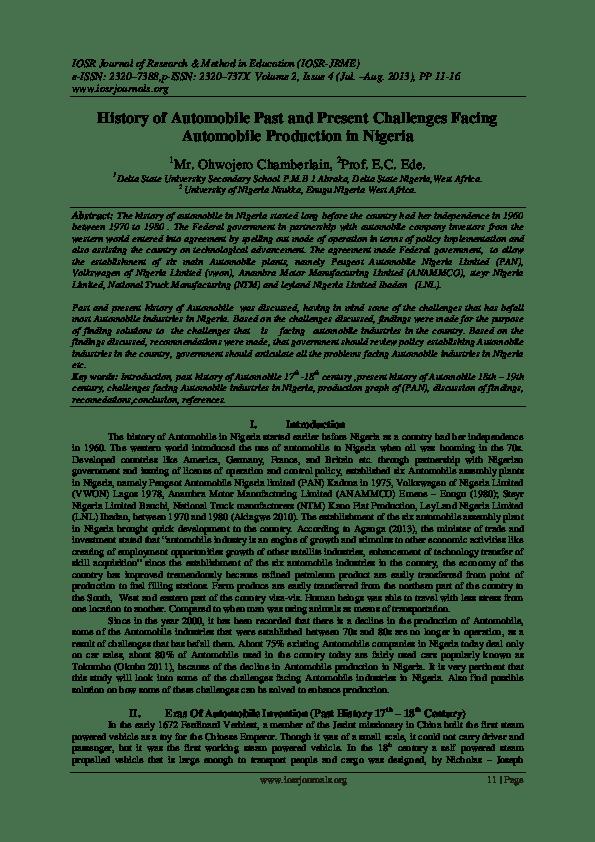 Histoire De L Automobile Pdf : histoire, automobile, 'histoire, 'automobile, WordPresscom