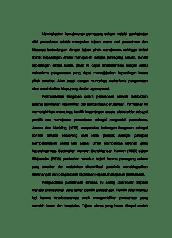 Pemilik Perusahaan Disebut : pemilik, perusahaan, disebut, Agency, Theory, Lutfi, Academia.edu