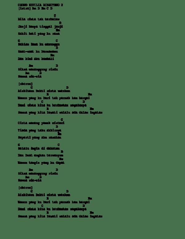Chord Zivilia Aishiteru 2 : chord, zivilia, aishiteru, Aishiteru, Rangga, Putra, Academia.edu