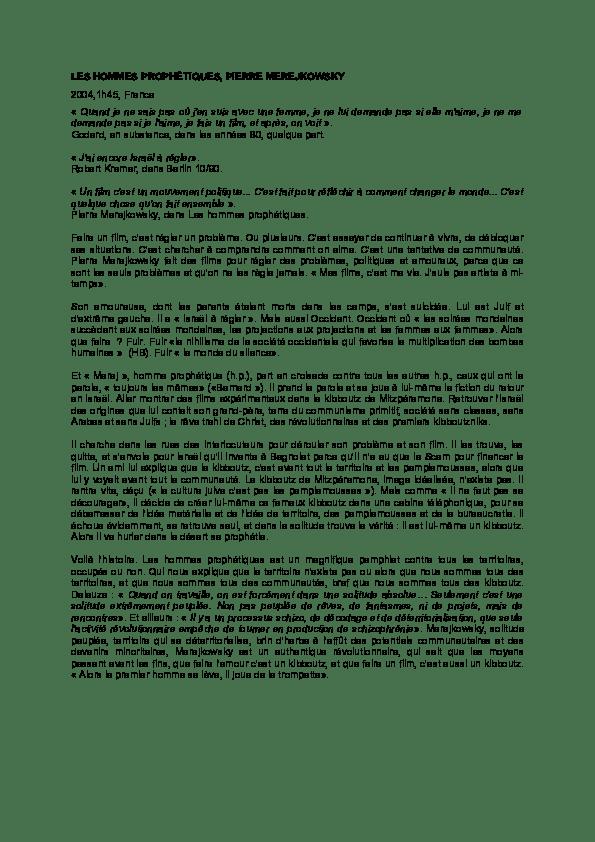 Le Silence D Une Femme Amoureuse : silence, femme, amoureuse, HOMMES, PROPHETIQUES, Camille, Plagnet, Academia.edu