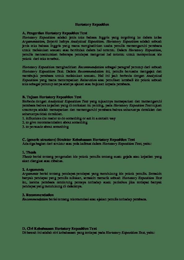 Hortatory Exposition Adalah : hortatory, exposition, adalah, Hortatory, Exposition, AL-Furqan, Zulkaisi, Academia.edu