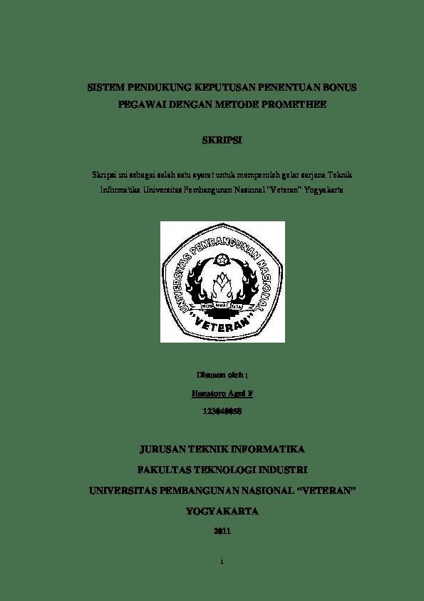 Skripsi Teknik Informatika Pdf : skripsi, teknik, informatika, SKRIPSI, TEKNIK, INFORMATIKA, Jannah, Academia.edu