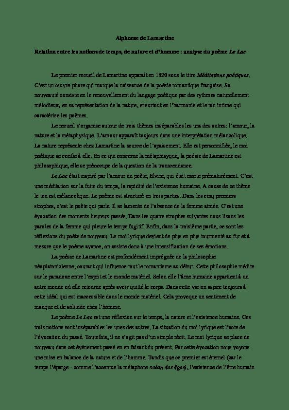 Alphonse De Lamartine Le Lac : alphonse, lamartine, Alphonse, Lamartine, Petra, Tasnádi, Academia.edu