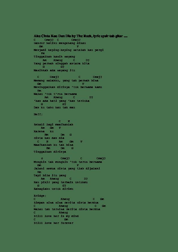 Chord Akankah Kau Setia : chord, akankah, setia, Ternyata, Setia, Chord