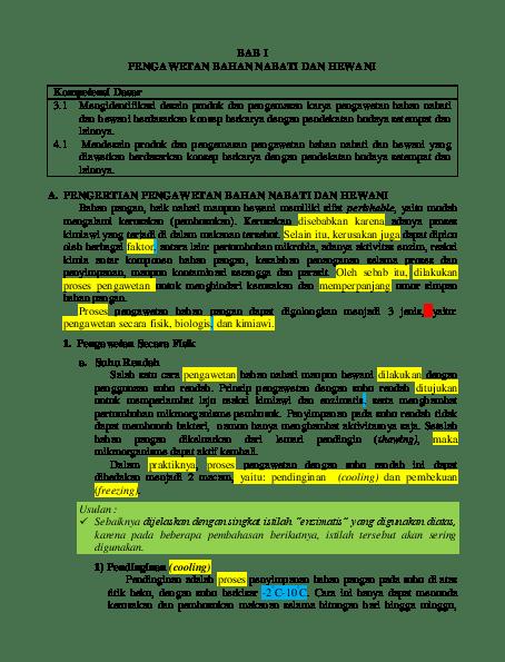 Macam Macam Bahan Pangan : macam, bahan, pangan, Jenis, Bahan, Pangan, Nabati, Hewani