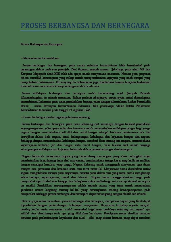 Faktor Faktor Pembentuk Bangsa Indonesia : faktor, pembentuk, bangsa, indonesia, Sebutkan, Faktor, Penting, Pembentukan, Bangsa, Indonesia