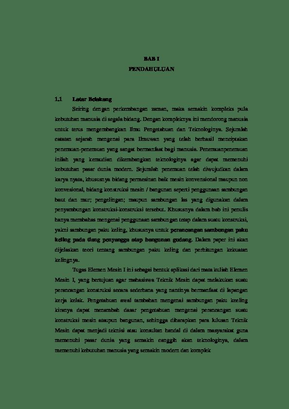 Makalah Paku Keling : makalah, keling, Perancangan, Keling, Rezki, Academia.edu