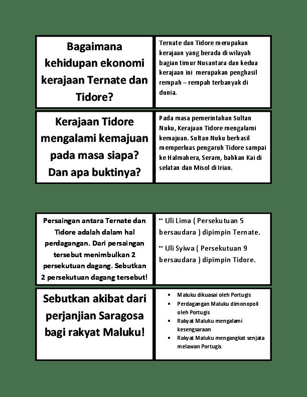 Kehidupan Politik Kerajaan Tidore : kehidupan, politik, kerajaan, tidore, Pemerintahan, Sultan, Farid, Fadlillah, Academia.edu