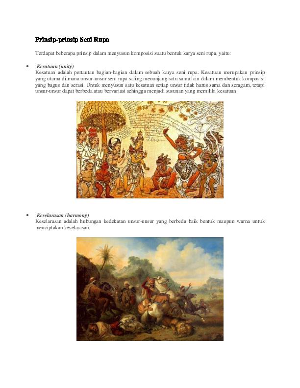 Kesatuan Dalam Seni Rupa : kesatuan, dalam, Prinsip-prinsip, Ganis, Maulia, Yusuf, Academia.edu