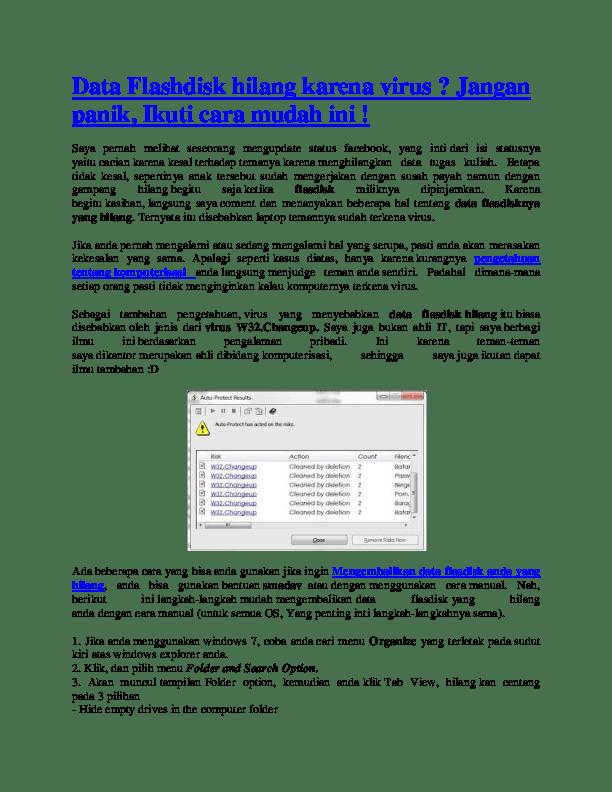 Cara Menghilangkan Virus Kaspersky Di Flashdisk : menghilangkan, virus, kaspersky, flashdisk, Mengembalikan, Flashdisk, Terkena, Virus, Kaspersky, Sumber, Berbagi, Dubai, Khalifa