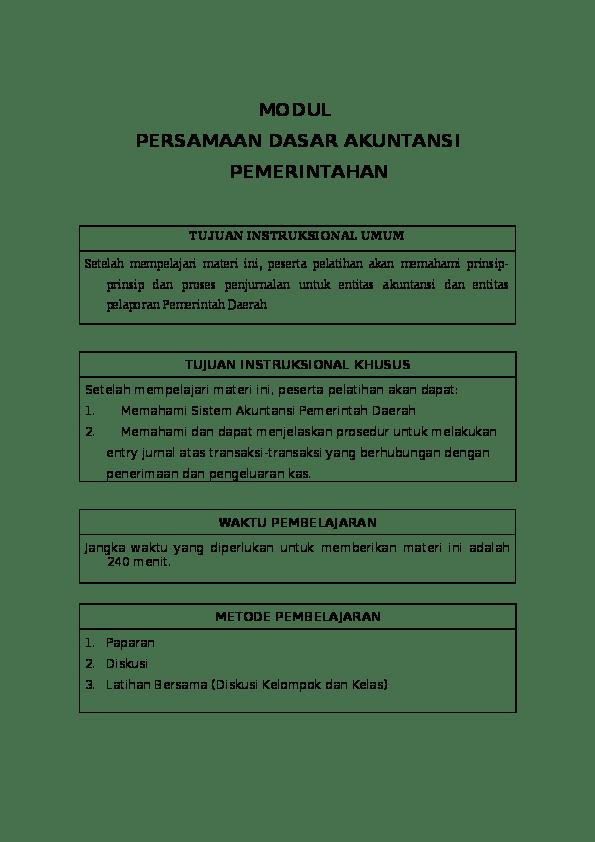 Persamaan Dasar Akuntansi ~ Jurnal-Akuntansi
