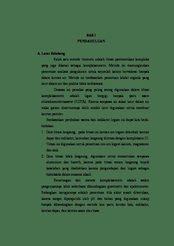 Titrasi Kompleksometri Pdf : titrasi, kompleksometri, Kompleksometri, Fajrul, Academia.edu
