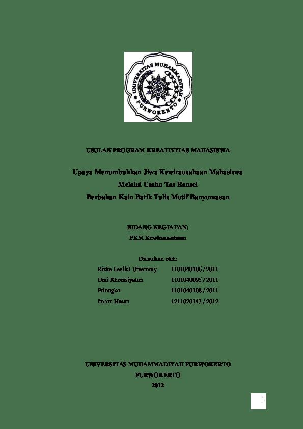 Contoh Proposal Kewirausahaan Mahasiswa : contoh, proposal, kewirausahaan, mahasiswa, CONTOH, PROPOSAL, Rahman, Academia.edu