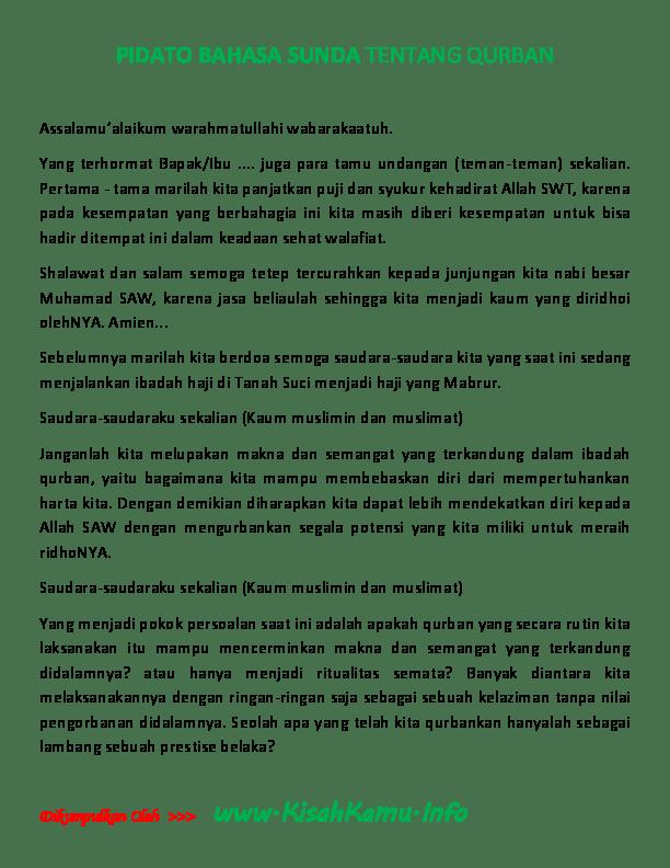 Teks Ceramah Sunda Jujun Junaedi : ceramah, sunda, jujun, junaedi, Kumpulan, Pengetahuan, Penting:, Contoh, Pembukaan, Pidato, Bahasa, Sunda