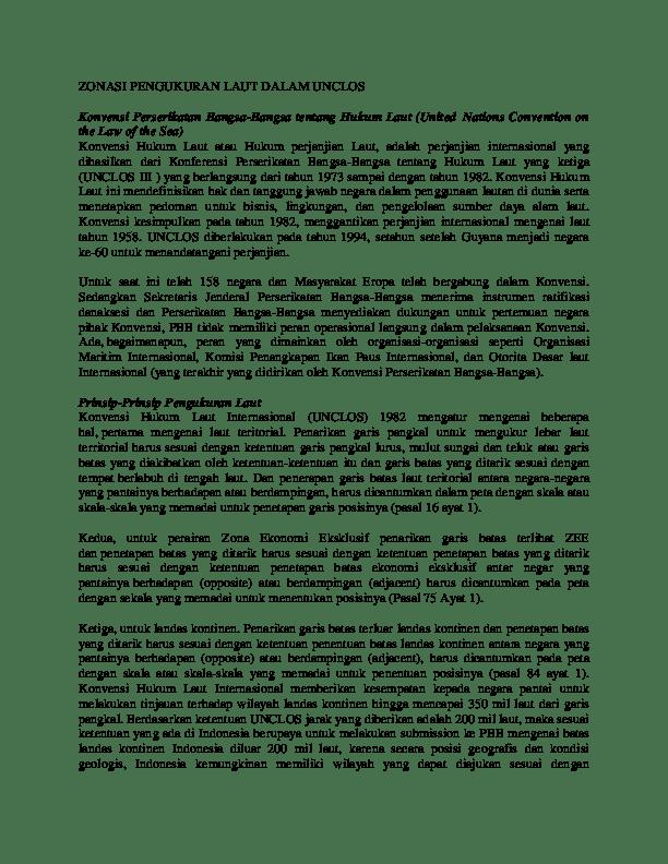 Isi Konvensi Hukum Laut Internasional Tahun 1982 : konvensi, hukum, internasional, tahun, Hukum, Lilis, Trisnawati, Academia.edu