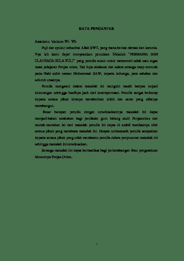 Makalah Tentang Bola Voli : makalah, tentang, Makalah, Asram, Muzharath.K, Academia.edu