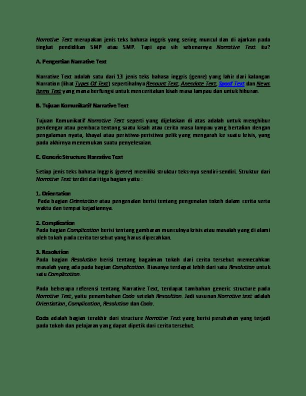 Contoh Descriptive Text Beserta Jawaban Contoh Top Cuitan Dokter