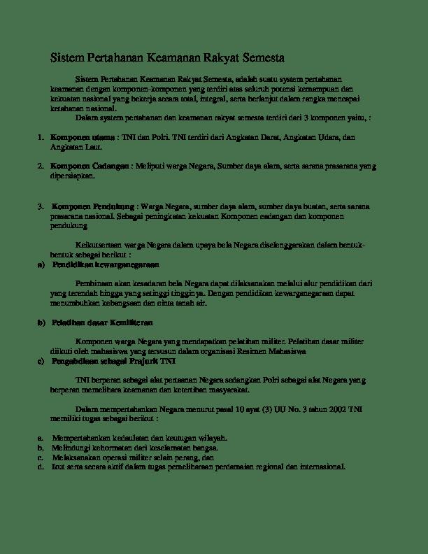 Sebutkan Tugas Tni : sebutkan, tugas, Sebutkan, Tugas, Sebagai, Pertahanan, Negara, Dalam, Usaha, Pembelaan