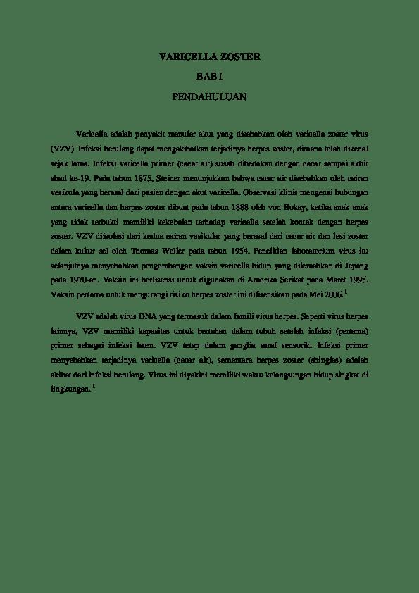 DOC) Varicella Zoster | Mandeep Dhillon - Academia.edu