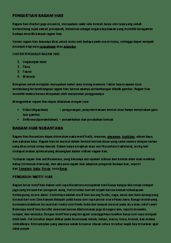 Teknik Menggambar Ragam Hias Dapat Dilakukan Dengan Cara Stilasi Maksud Dari Stilasi Adalah : teknik, menggambar, ragam, dapat, dilakukan, dengan, stilasi, maksud, adalah, PENGERTIAN, RAGAM, Amira, Rachmatillah, Academia.edu
