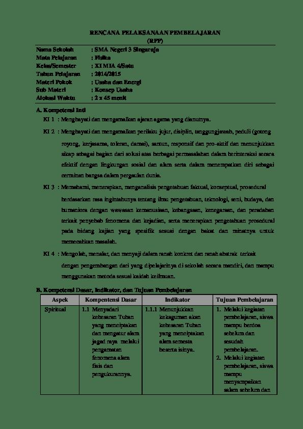 Materi Usaha Dan Energi Kelas 10 Kurikulum 2013 : materi, usaha, energi, kelas, kurikulum, Materi, Pembelajaran, Fisika, Kelas, Tahun
