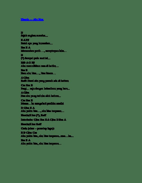 Chord Aku Bisa Flanella : chord, flanella, Flanela, Priyandaru, Agung, Academia.edu