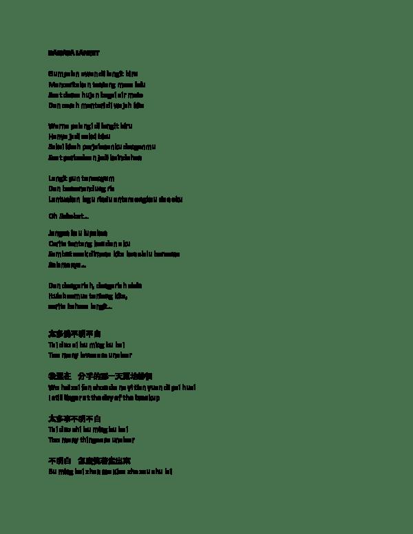 Chord Boy Sandy Rindu di awan biru - Chord Gitar Indonesia