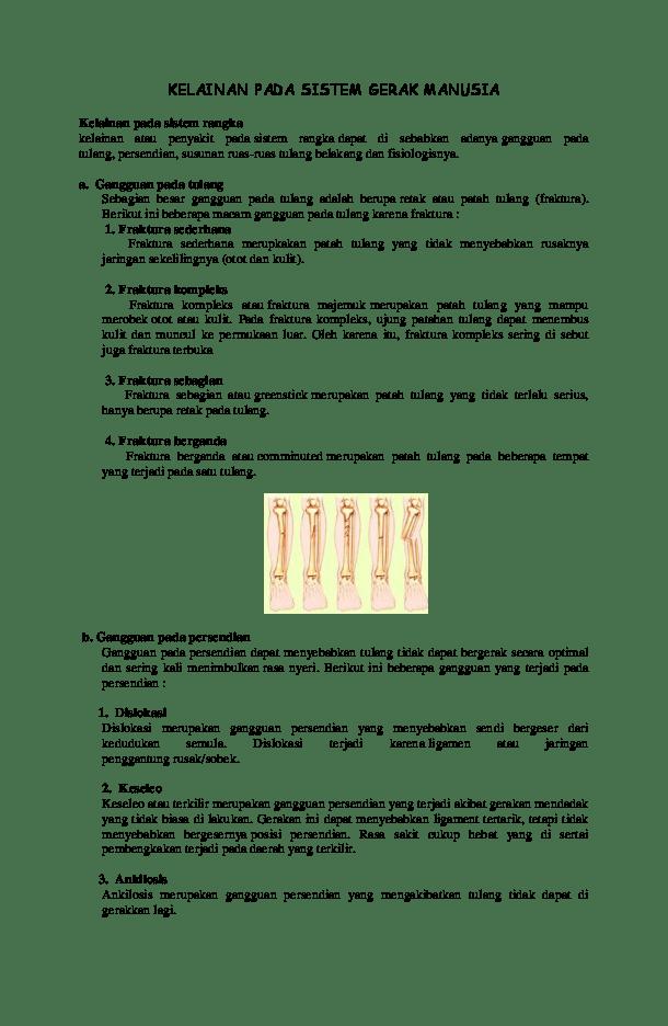 Tiga Kelainan Pada Tulang : kelainan, tulang, KELAINAN, SISTEM, GERAK, MANUSIA, Puspita, Academia.edu
